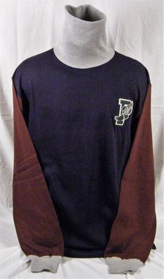 6e6e49eb09deb3 Vintage Polo Ralph Lauren P Wing Turtleneck Sweater Stadium Made in USA  Large