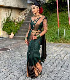 "👑 T H I V A   Makeup Artist on Instagram: ""My beautiful Rameena ❤️ Saree @yathrafashion Lashes @thivabeauty Jewellery @swaroop_jewellery Henna @henna_by_roja Bride @rameena.yathra"" Tamil Wedding, Henna, Lashes, Sari, Jewellery, Bride, Makeup, Artist, Beautiful"
