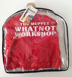 Muppets Red Hoodie Whatnot Workshop Outfit  New in Package Disney FAO Schwarz  #FAOSwarzDisney
