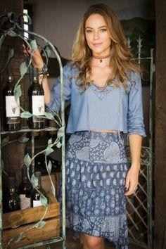 Melissa (Paola Oliveira) figurino nova (segunda) fase Além do Tempo