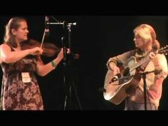 Emily Schaad at the Appalachian Music Festival Clifftop,WV Fiddle Contes...