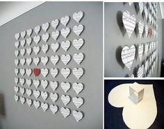 Serduszkowy EFEKT na ścianie ♥ MEGA!!!