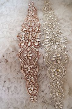rose gold rhinestone sash applique, crystal applique for wedding sash, gold rhinestone bridal sash belt, crystal sash belt 2016 new arrival Wedding Belts, Gold Wedding, Satin Rose, Raindrops And Roses, Bridal Sash Belt, Flower Girl Basket, Sash Belts, Gold Rhinestone, Beaded Embroidery