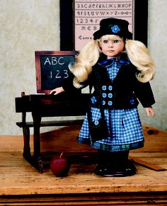 Download Teacher's Pet Sewing Pattern   Dolls & Clothing   YouCanMakeThis.com