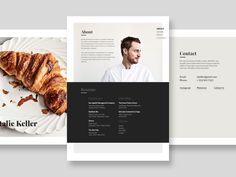 Chef Portfolio Exploration by Michael Mazur