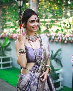 Image may contain: 1 person, standing and outdoor Saree Wearing Styles, Saree Styles, Ball Dresses, Ball Gowns, Bengali Bride, Saree Models, Indian Beauty Saree, Indian Sarees, Bengali Saree
