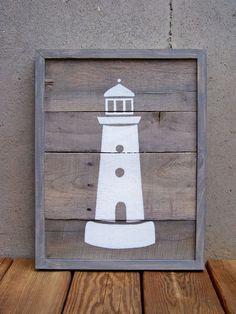 Job Opp: Lighthouse Stencil on Wood – Umbrella Studio contemporary arts