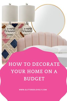 Decorating your home doesn't have to be expensive. Here are some cheap decorating ideas for your apartment or home.
