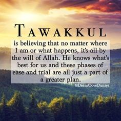 Perfect trust in Allah SWT. Beautiful Islamic Quotes, Islamic Inspirational Quotes, Islamic Qoutes, Inspirational Poems About Life, Beautiful Dua, Powerful Motivational Quotes, Motivational Quotes For Students, Islam Religion, Islam Muslim