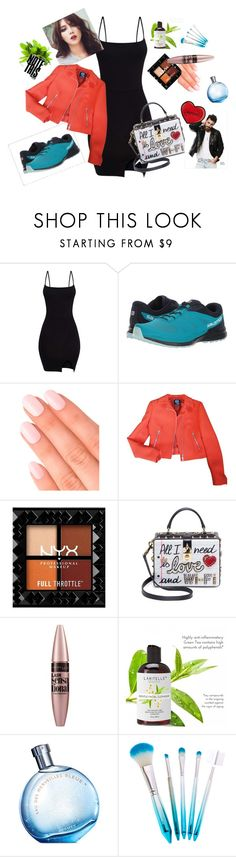 """Good mood"" by goodjob9 ❤ liked on Polyvore featuring Salomon, Elegant Touch, Alexander McQueen, Dolce&Gabbana, Maybelline and Hermès"