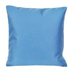 chillisy® SUMMERTIME Outdoor Kissen . blue . 40x40 . www.chillisy.eu relax@chillisy.eu Relax, Summertime, Throw Pillows, Blue, Outdoor, Cushion, Outdoors, Cushions, Decorative Pillows