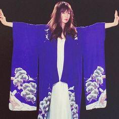 嘻嘻#椎名林檎 Shiina Ringo, Japanese Street Fashion, Japanese Girl, Kimono, Street Style, Fuji, Lady, Venus, Creative