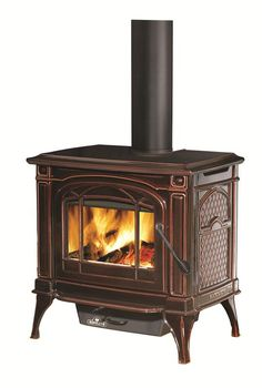 Napoleon 1100 C Cast Iron Wood Stove.  Get the proven performance of cast iron, with the same great efficiency and value of other Napoleon stoves. Heats a large family room, one floor or an entire small house (up to 1,500 sq ft)
