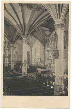 Königsberg (Pr.), Schloßkirche, innen Autor Marie Rosrngarth, Königsberg Data zrobienia zdjęcia 1925 - 1935