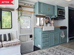 Camper Interior, Diy Camper, Camper Storage, Smart Storage, Camper Van, Tyni House, Boat House, Rv Homes, Tiny Homes
