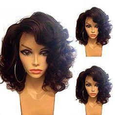 Elva Hair Glueless Full Lace Wigs Unprocessed Virgin Brazilian Full Lace Human…