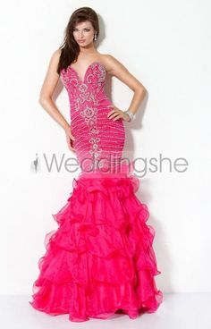 Fabulous Mermaid Floor-Length Sweetheart Evening/Prom Dress(Free Shipping)