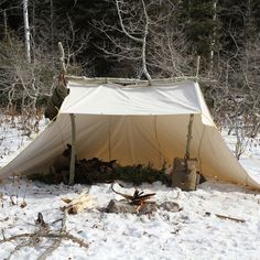 Whelen Lean-to Tent by Frost River, One of my favorite traditional tent designs