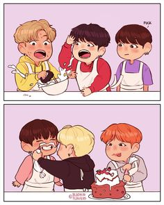 When they try to cook with Eomma Jin around