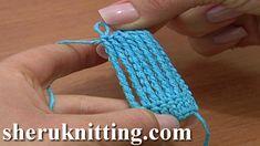 Octuple Treble Crochet Stitch Crochet Basics Tutorial 17