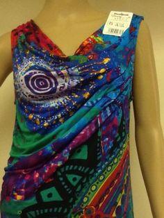 Brand desigual Fashion women sexy Blouse SZ L USA Seller Price $114