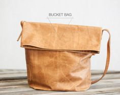 Fullgive Leather presents the Bucket Bag. - Fall Trends 2014