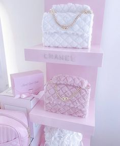 Rich Girls, Pink Closet, Beauty Room Decor, Baby Pink Aesthetic, Everything Pink, Cute Purses, Pink Wallpaper, Cute Bags, My New Room