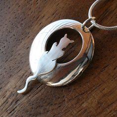 Zilveren sieraden zilveren hanger zilveren door AngelaWrightDesigns
