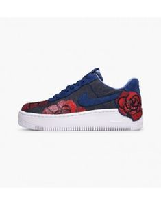 super popular df0f1 bc8c8 57,05 Nike Air Force 1 Upstep Lux Damesschoen Binair Blauw 898421-401