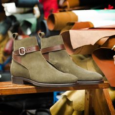 Carmina shoemaker — Carmina Jodhpur boots, last hours available at. Jodhpur, Mens Shoes Boots, Shoe Boots, Dandy, Gentleman Shoes, High Ankle Boots, Suede Leather Shoes, Formal Shoes, Formal Wear