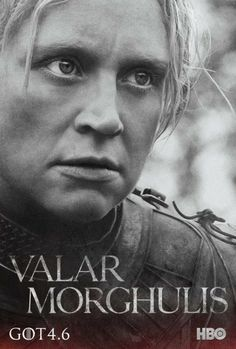 Brienne looks so angry and mean most of the time, but is really beautiful.