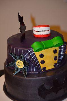 Traylor Made Treats: Batman & Joker Cake