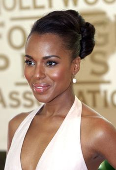 Kerry Washington....an amazing actress with excellent control of here facial muscles.