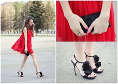 Lina Linadelika, from RussiaP.S. Awesome red dress and black heels