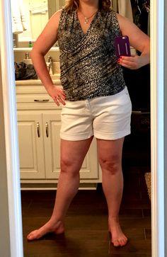 41Hawthorne Montgomery Crossfront Knit Top, size Medium, Black\White, $48, #stitchfix June 2015 Stitch Fix