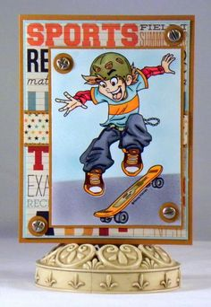 whimsy stamps kenny k extreme - Google Search