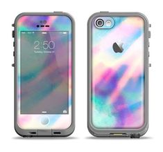 The Tie Dyed Bright Texture Apple iPhone 5c LifeProof Fre Case Skin Set #iphone5c,