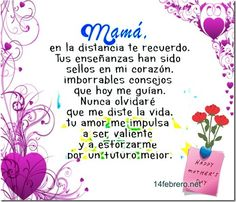 frases madres muertas 14febrero (10) Miss You Mom, Mom And Dad, Mom Texts, Mom In Heaven, Qoutes, Life Quotes, Mom Poems, Adorable Quotes, Conversation Topics
