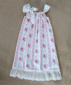Look what I found on #zulily! Pink Ribbon Spring Bliss Shift Dress - Infant, Toddler & Girls by Sado #zulilyfinds