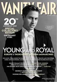 Vanity Fair's Portraits of Royalty - Mario Testino, who famously photographed Prince William's mother, took this portrait of William in on the occasion of the prince's birthday. Young Prince, Baby Prince, Prince And Princess, Princess Kate, Prince Harry, Princess Katherine, Prinz William, William William, Prince William And Catherine