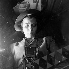 Self Portraits Portfolio: As reclusive and private as Vivian Maier was, her self…