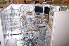 Aluminum Cubicle (prank)