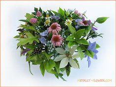 цветы в технике керамическая флористика