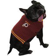 Washington Redskins Pet Sweater - Burgundy #Football #NFL #NFLDogProducts #NFLPetProducts #DogProducts #PetProducts #WashingtonRedskins #WashingtonRedskinsDogs #WashingtonRedskinsPets #Redskins #Animals #Dogs #Pets #AdorabullBulldogs #PawsativeParents