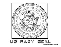 Image Result For Coloring Pages Of Military Emblems
