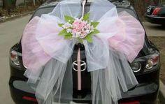 versiering auto bruiloft - Google Search