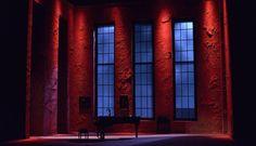 CARLOTA / Diseño de escenografía y vestuario: Felype de Lima / Teatro María Guerrero / CDN / Autor: Miguel Mihura / Dirección: Mariano de Paco / Fotografía: David Ruano