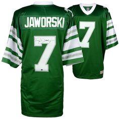26186927afb Ron Jaworski Philadelphia Eagles Fanatics Authentic Autographed Green  Throwback Proline Jersey