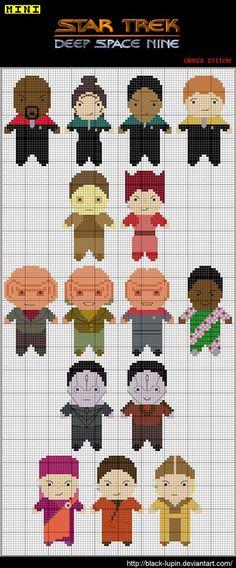 Star Trek DS9 Cross Stitch by *black-lupin