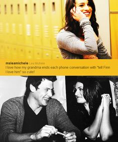 Lea Michele and Cory Monteith. She was supposed to wear white and say 'I do'. Now she's wearing black and saying 'goodbye'.